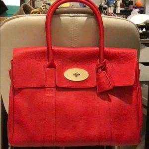 Brand new Mulberry Bayswater in Red